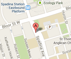 Directions - Spadina Chiropractic - Downtown Toronto